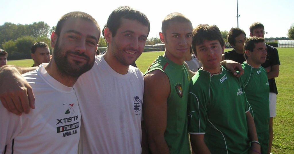 Da sinistra: Bianca, Fuscà, Bertocchi, Ricucci.