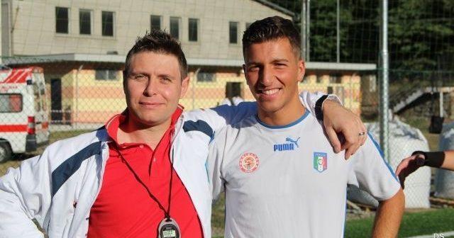 Cuttica e Salvo Rossi durante il raduno a Pinerolo.